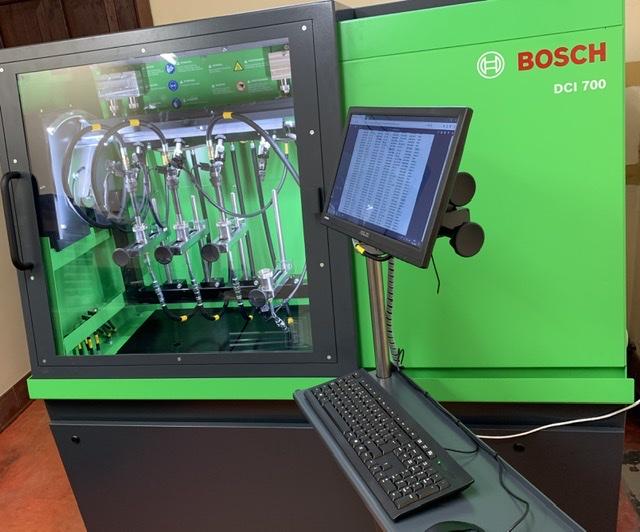 Bosch DCI700 test bench